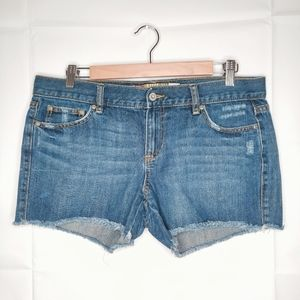 Old Navy Ultra Low Waist Jean Shorts Sz 10